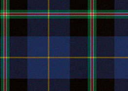 A swatch of the Italian National Tartan